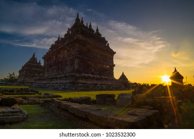 Stupa of Plaosan temple, this temple located in Yogyakarta Indonesia near of Prambanan Temple