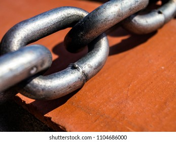 sturdy metal chain