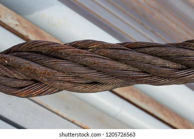 sturdy steel rope