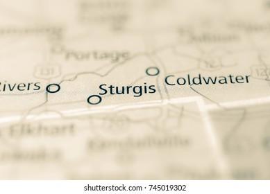 Sturgis, Michigan, USA.