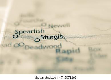 Sturgis, South Dakota, USA.