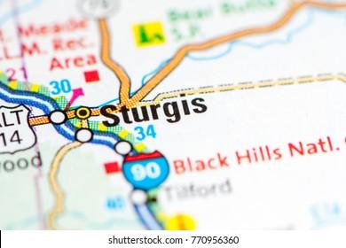 Sturgis. South Dakota. USA