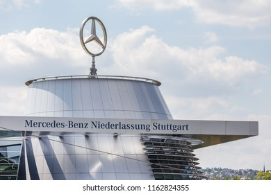 stuttgart, Baden-Wurttemberg/germany - 21 08 2018: mercedes benz factory stuttgart germany