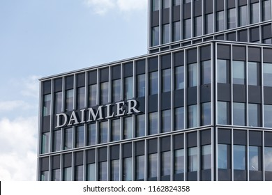 stuttgart, Baden-Wurttemberg/germany - 21 08 2018: daimler central factory stuttgart germany