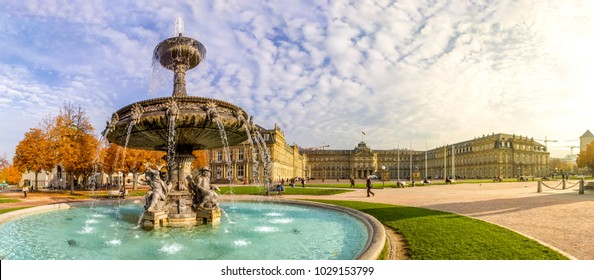 Stuttgart, Castle Square, Germany