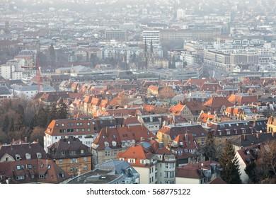 Stuttgart City, Baden-Wuerttemberg, Germany
