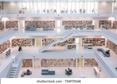 Stuttgart City Library Interior Modern European Architecture Famous October 14, 2017