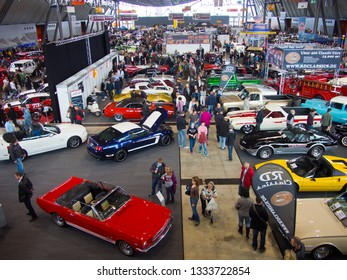 stuttgart, germany, 09 march 2013, retro classics, international exhibition for vintage and classic cars