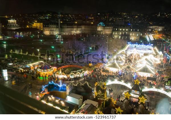 Stuttgart Weihnachtsmarkt.Stuttgart Weihnachtsmarkt Schlossplatz 2016 Christmas Market