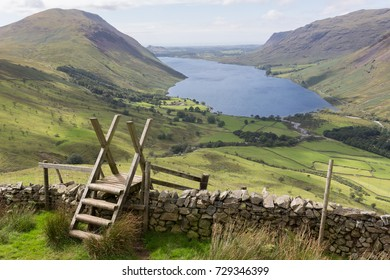Sty overlooking Wastwater, the Lake District