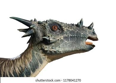 Stygimoloch isolated on white background