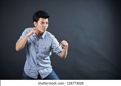 Style of fighting in the studio