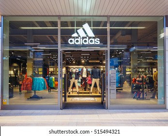 The Style Outlets , Viladecans , Barcelona - November 2016 : Adidas store
