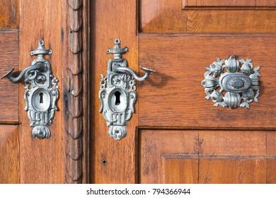 styled door locks