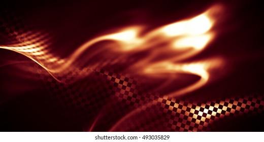 Imágenes Fotos De Stock Y Vectores Sobre Fire Car Wallpaper