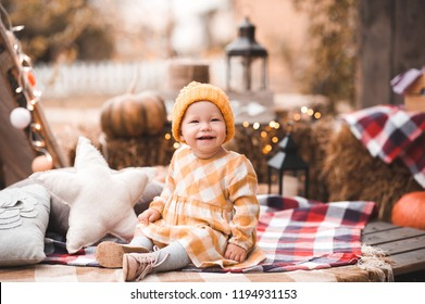 500c300737f0 Cute Baby Girl 45 Year Old Stock Photo (Edit Now) 1022964703 ...
