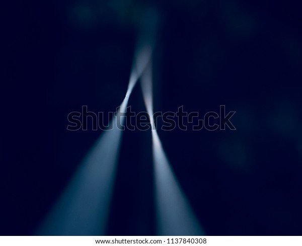 Stylish blurry nylon ropes isolated object unique photograph