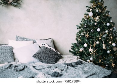 Scandinavian Christmas.Scandinavian Christmas Images Stock Photos Vectors