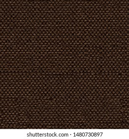 Stylish dark brown tissue background for new design. Seamless square texture, tile ready.