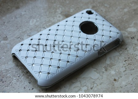 Stylish Decorations Cover Mobile Phone Stock Photo Edit Now