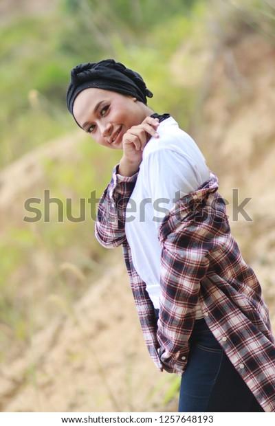Stylish Fashion Style Asian Girl Wearing Stock Photo Edit Now