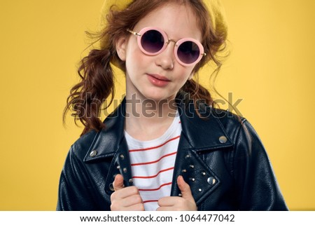 4e4215b4cad5 Stylish girl beret glasses stock photo edit now jpg 450x320 Stylish girl  goggles
