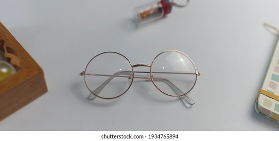 stylish glasses for when out of the house with a white background
