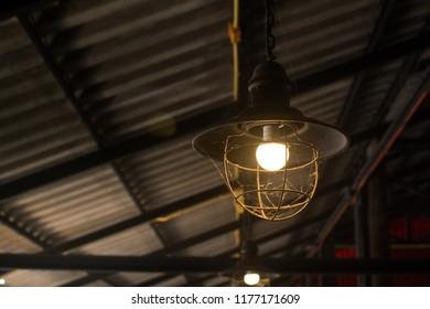stylish hang round ceiling luxury beautiful retro edison light lamp sit.