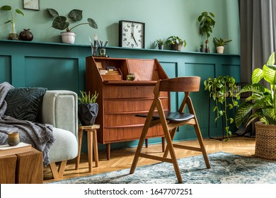 Vintage Home Interior Images Stock Photos Vectors Shutterstock