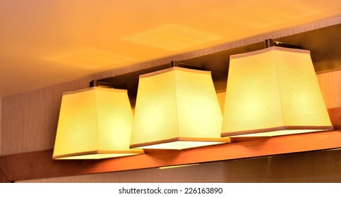 Stylish lamp decor
