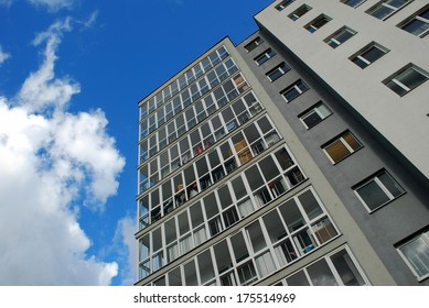 Stylish living block of flats. Real estate. New house in Vilnius city.