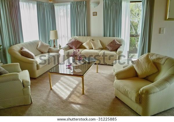 Stylish Living Room Elegant Furniture Stock Photo (Edit Now ...