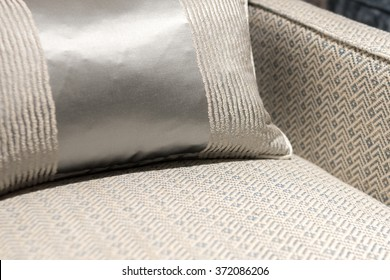 Stylish and Modern Herring Bone Pattern Chair