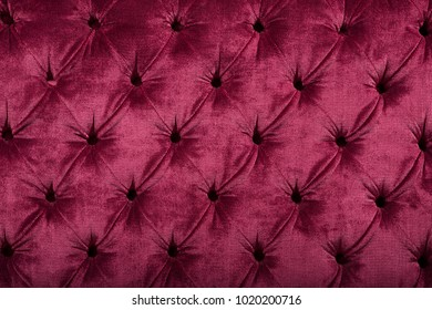 Stylish Quilted Velvet Background