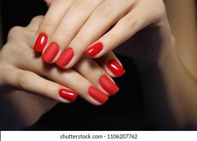 Red Fingernail Polish Images, Stock Photos & Vectors   Shutterstock