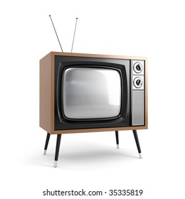 Stylish retro TV. More TV in my portfolio