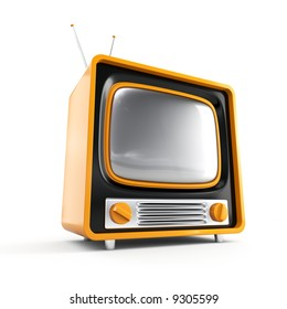 Stylish retro TV. More TV in my portfolio.
