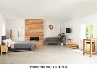 Modern Studio Apartment Images Stock Photos Vectors Shutterstock