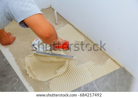 Stylish Trendy White Ceramic Tile Chamfer Stock Photo Edit Now