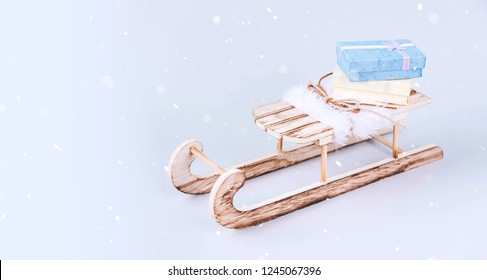 Wooden Sled Images Stock Photos Vectors Shutterstock