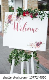 Stylish wedding invitation