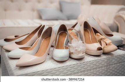 Stylish woman shoes