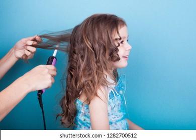 Little Girl Haircut Images Stock Photos Vectors Shutterstock