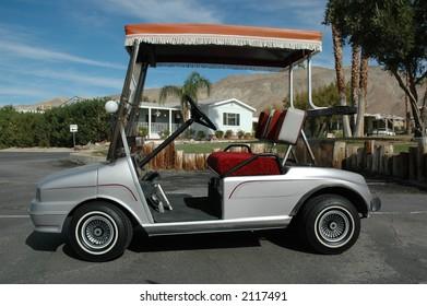 Stylistic Golf Cart