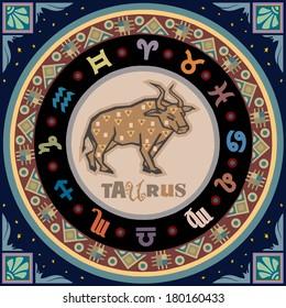 Stylized Zodiac Signs series