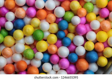 Styrofoam Balls, Wedding Decorative Polystyrene Spheres bubbles, Abstract spheres with colors
