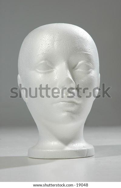 Styrofoam Head 1