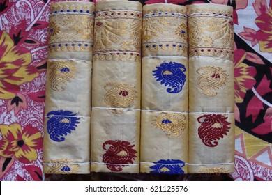 Sualkuchi - the silk village of Assam, India