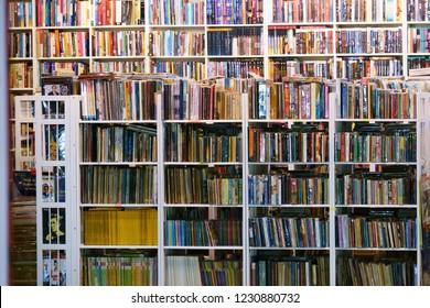 suan luang thailand 13 november 2018 second hand bookstore