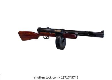 submachine gun Degtyarev system, isolate